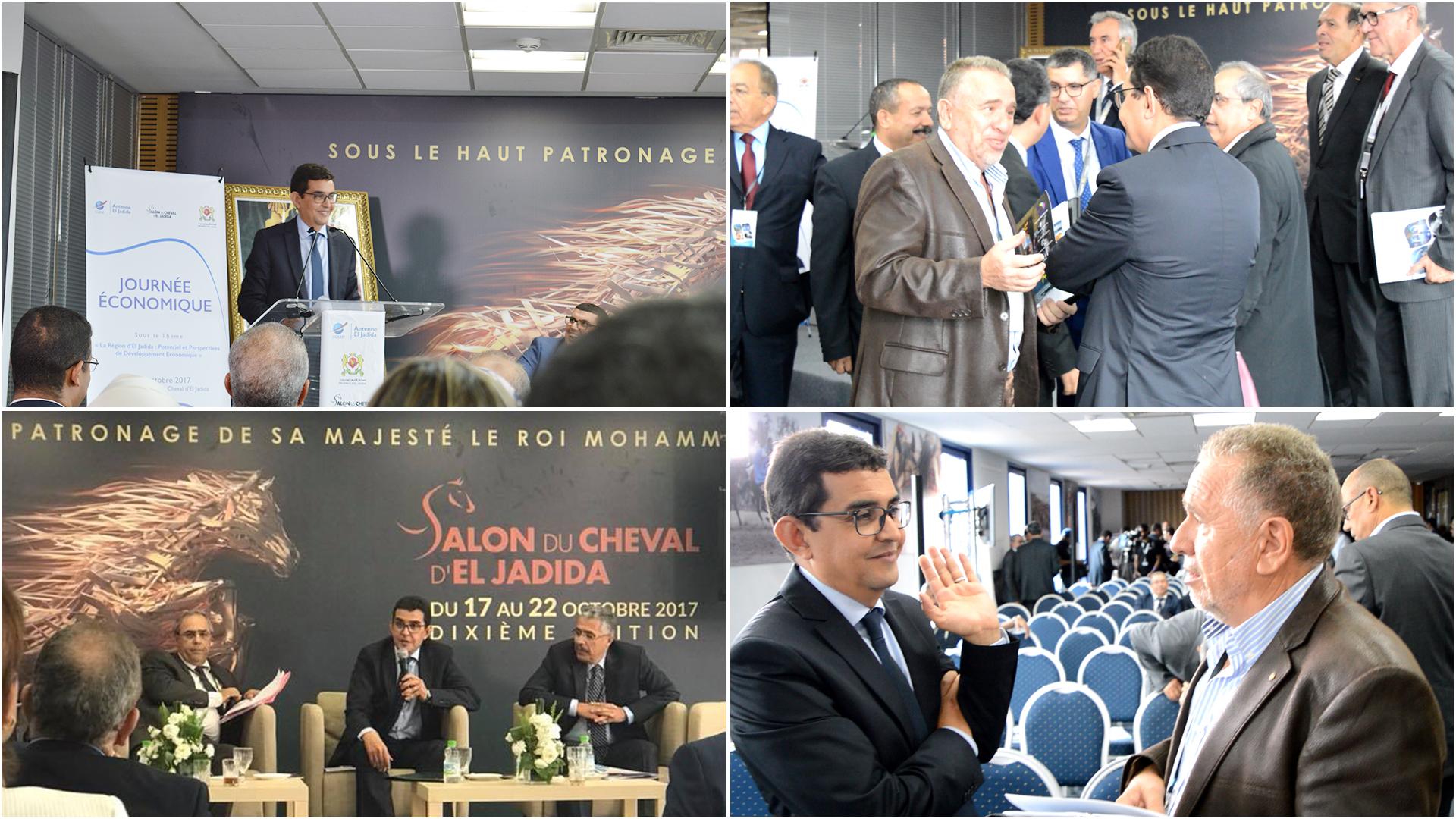 journee-economique-eljadida-salon-du-cheval-cgem-el-jadida-maroc